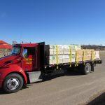 Red Gaydon Truck